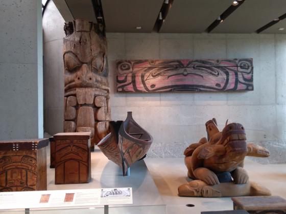 Vancouver, die wenigen Reste der First Nation (Indianer)