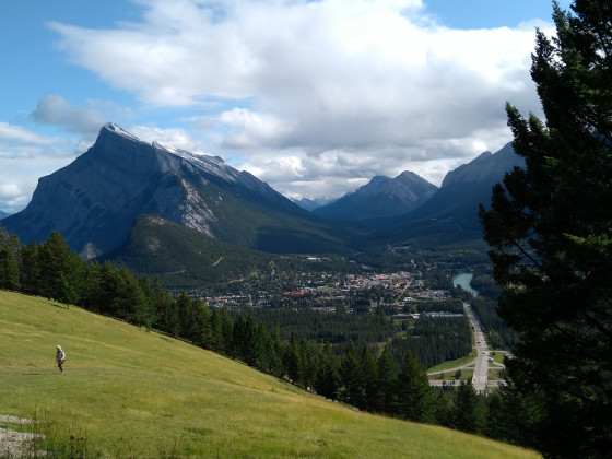 Banff City im Nationalpark
