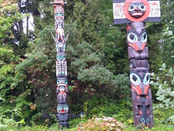Vancouver, Marterpfähle für Politopia 😁