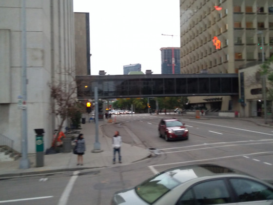 Calgary4 mit Übergang zwischen Gebäuden