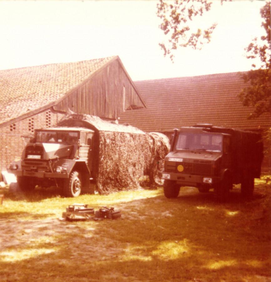 Urlaubsverpflegungsfahrzeug im Urlaub 1979....