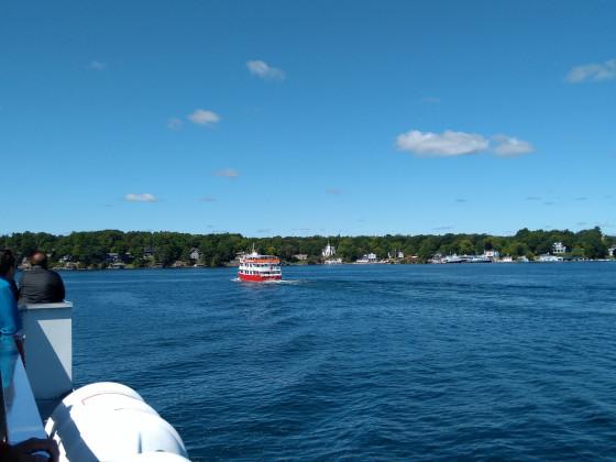 Bootsfahrt auf dem Sankt-Lorenz