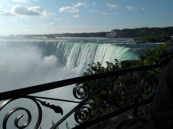 Nochmal Wasserfall von oben