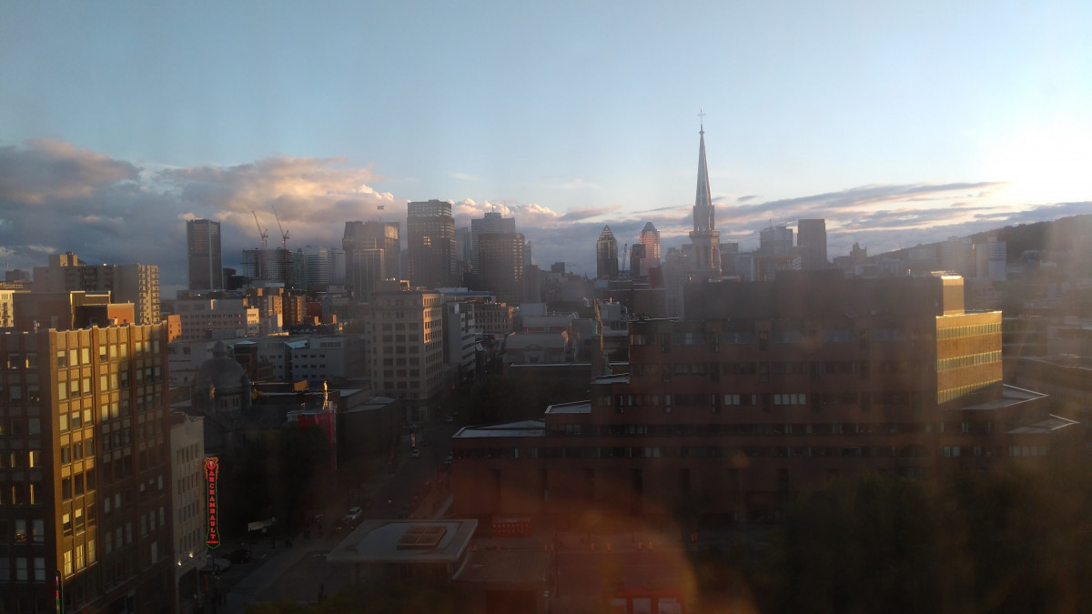 Montreal, Blick aus Hotelzimmer