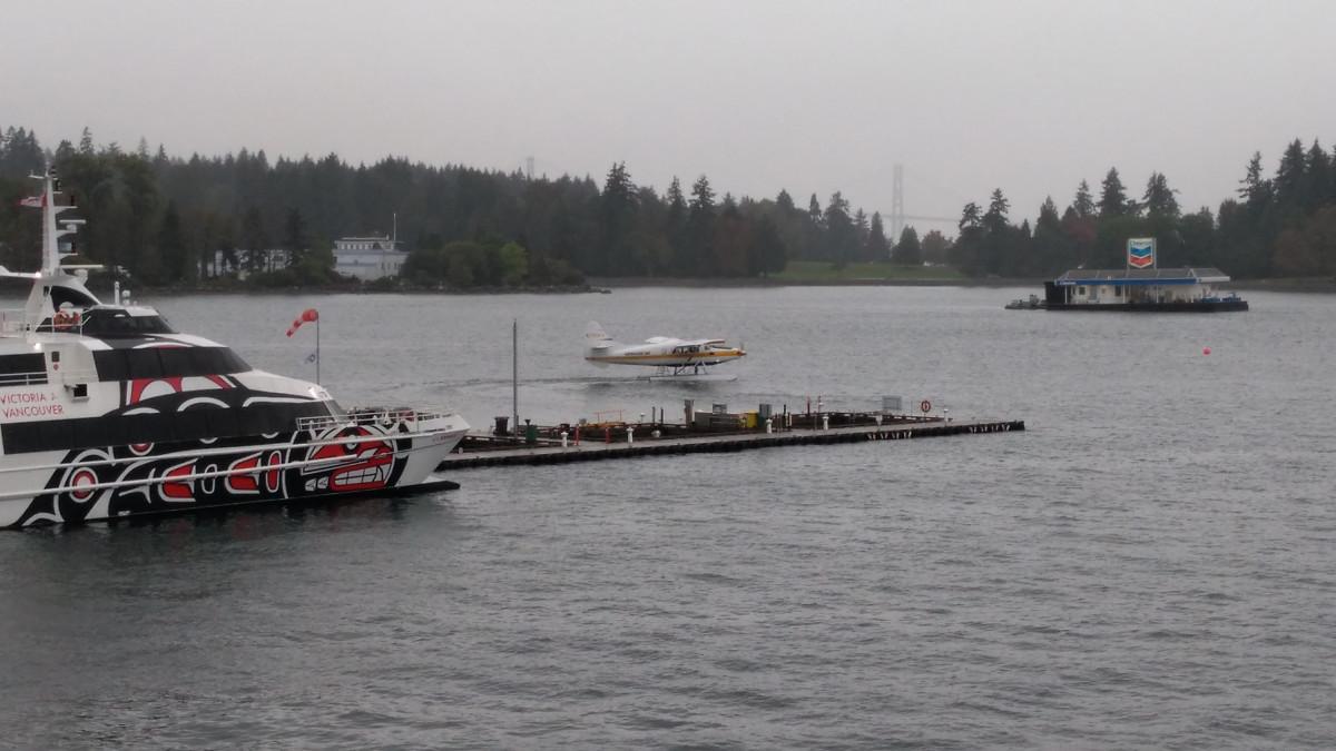 Vancouver, Taxi zu exklusiven Orten und nicht gerade billig.