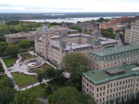 Regierungssitz, Quebec-City, Hauptstadt der französischsprachigen Provinz Quebec